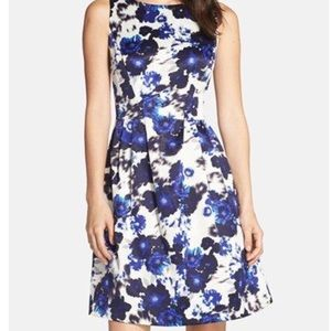 Vince Camuto Fit and Flare Floral Print Dress!!